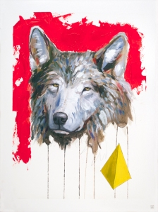 Illusion of Progress animal art painting Will Eskridge web