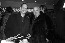 John Waters and Glenn Milstead